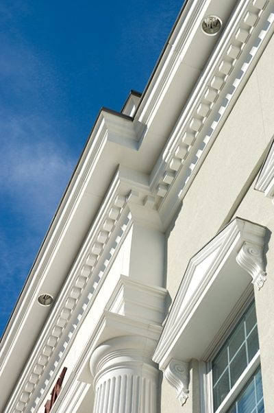 Columns, Cornice, Window Systems